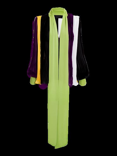 Blusa Maxi Bloque Color