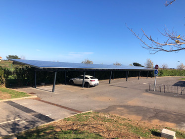 55 kWp ombriere Popsun Pro