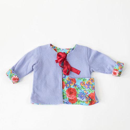 Soft Cashmere Jacket -Lilac