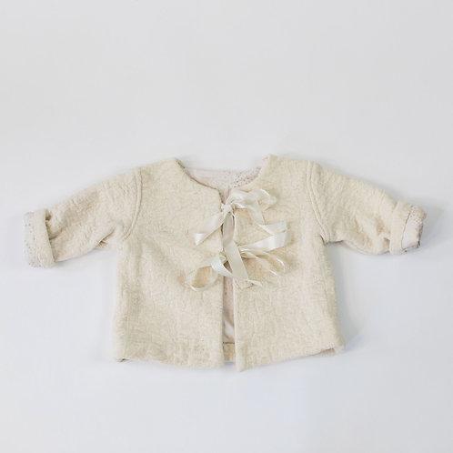 Wool Jacket - Soft White