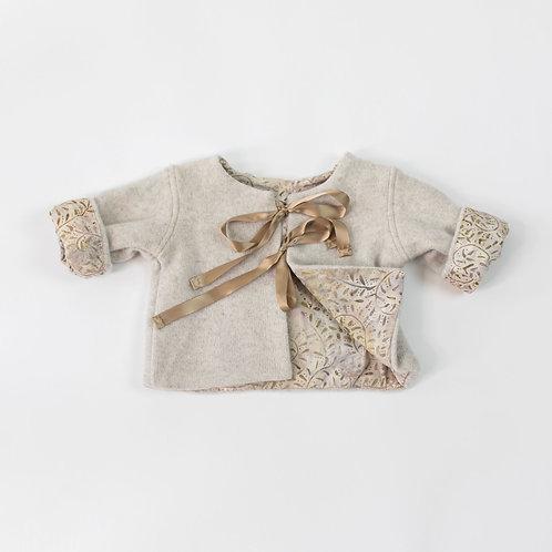 Soft Cashmere Jacket - Ivory