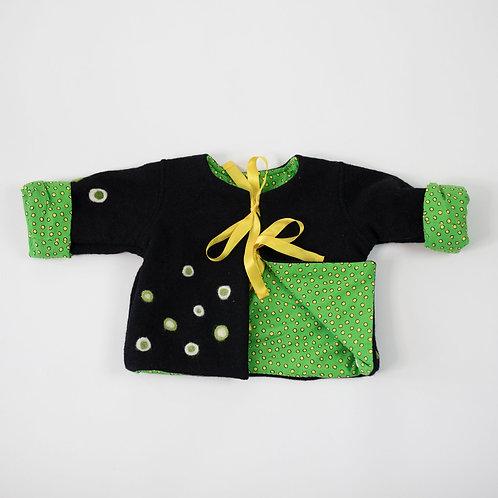 Wool Embellished Jacket - Black