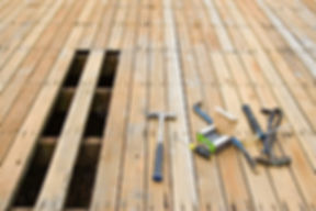 Deck repair, decking, cedar deck, deck building, Handyman deck repair, Handyman