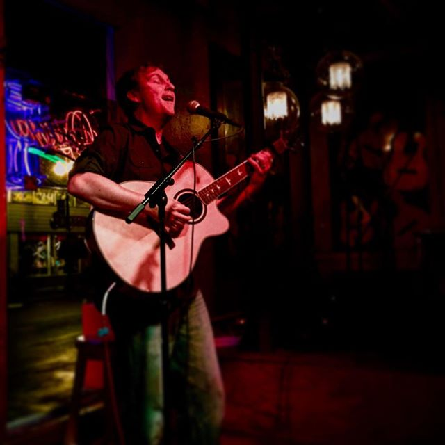 Shawn - sounding great at the 318 cafe tonight!