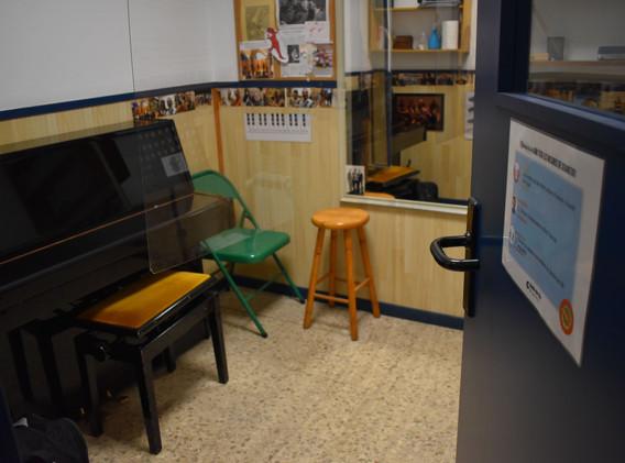 Aula piano aula de so