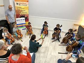 sensibilitzacio musical violoncel aula d