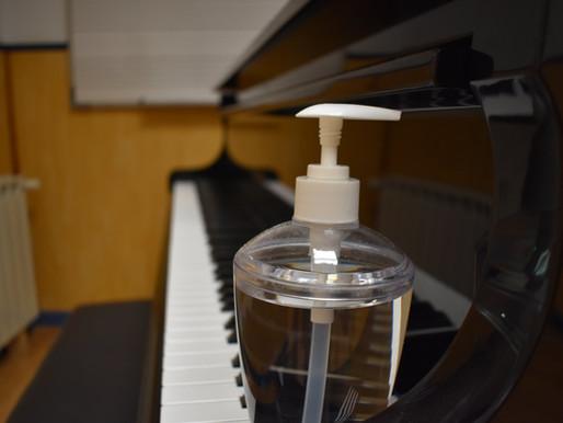 Les escoles de música en temps de pandèmia