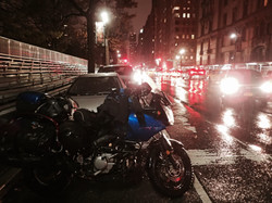 Manhattan rain.
