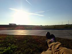 Relaxing.
