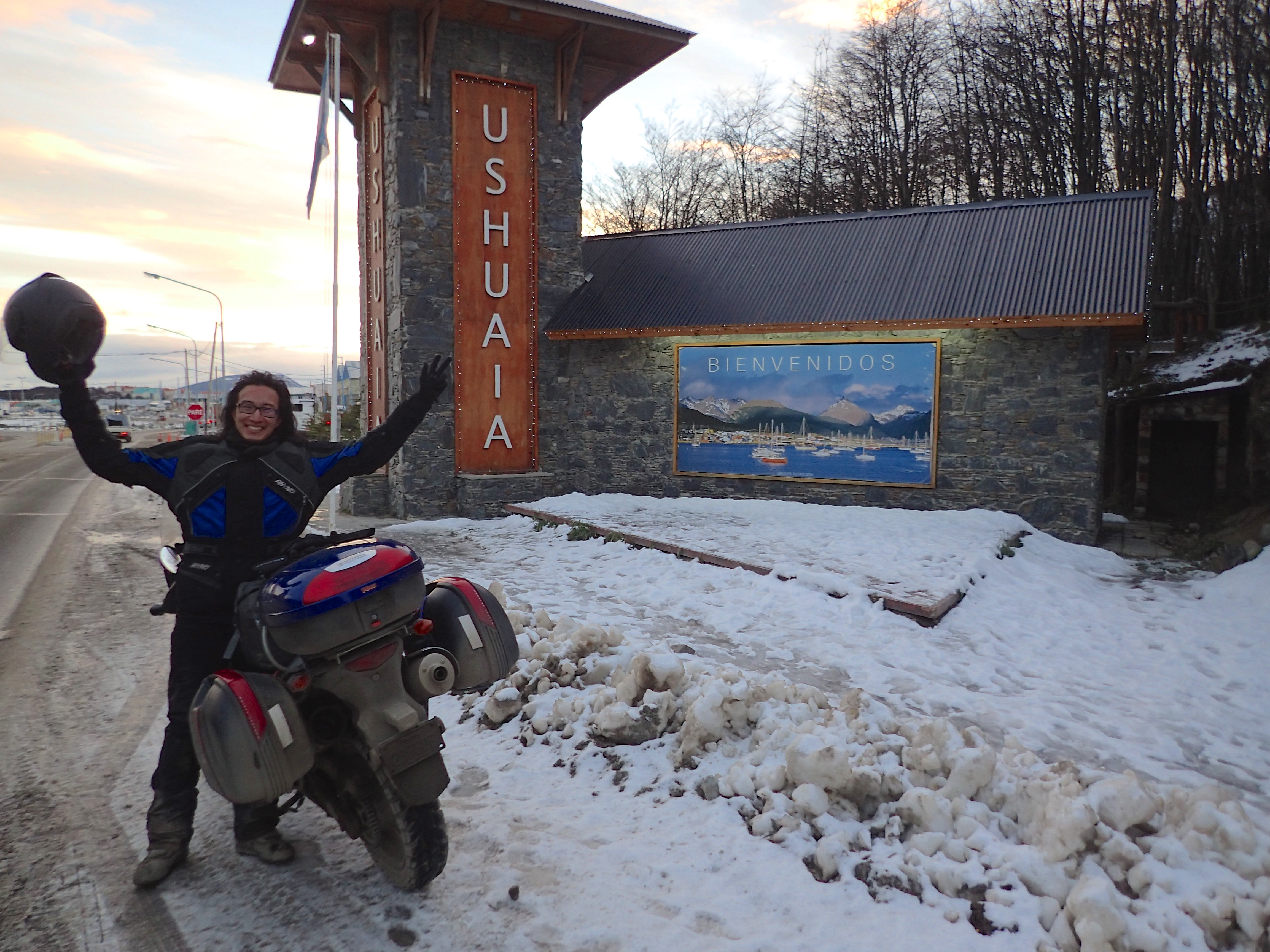 Arrival in Ushuaia!