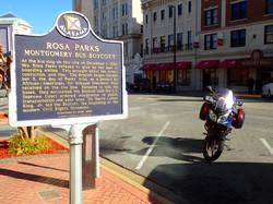 Rosa Parks Landmark, Alabama