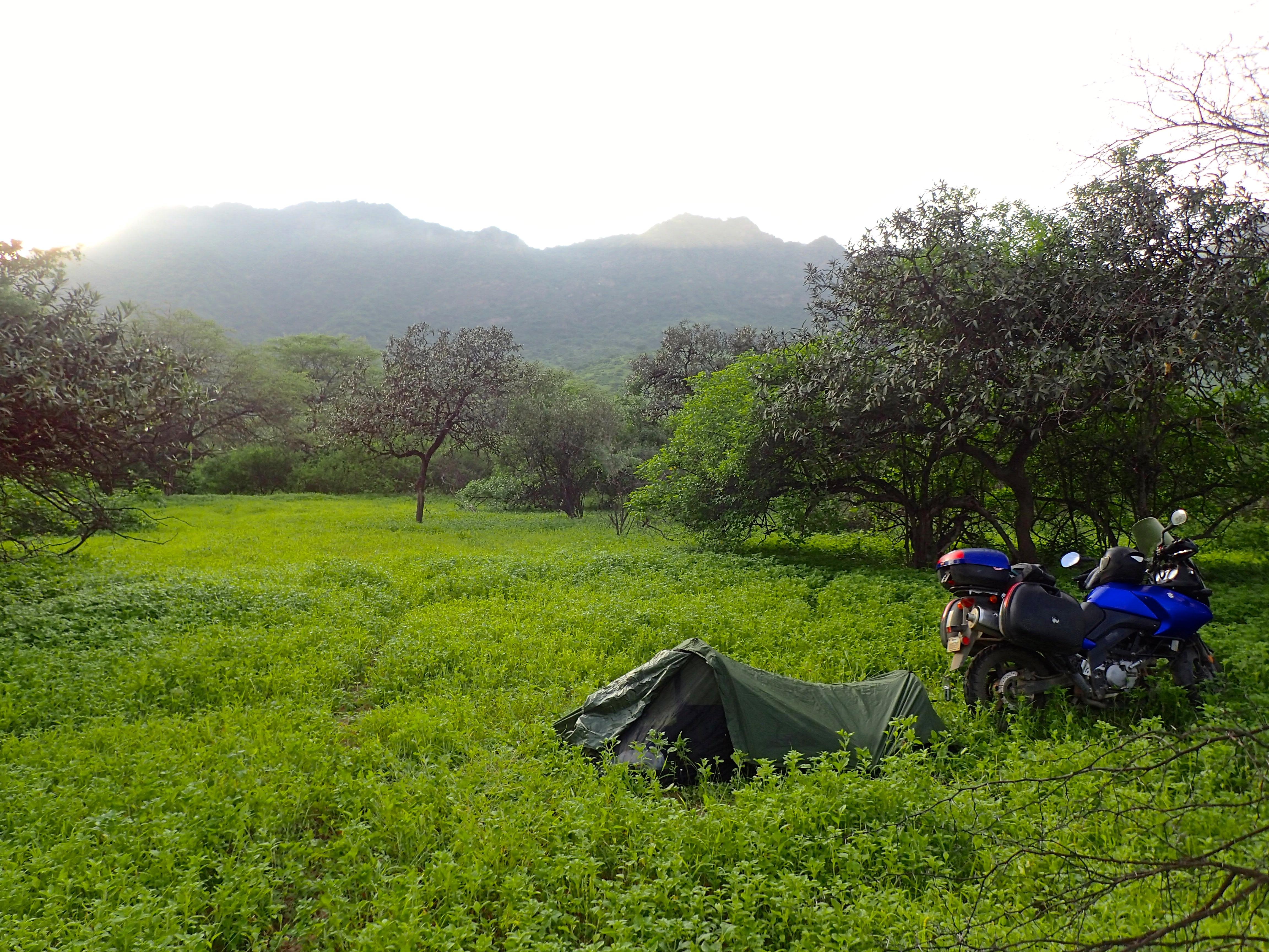 Camping - Peru