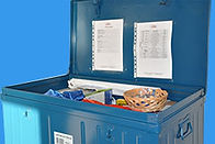 malle de prev' orange bleue prévention