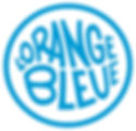 Logo collectif de prévention et de réduction des risques orange bleue