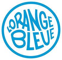 Logo collectif de prévention et de réduction des risques orange bleue