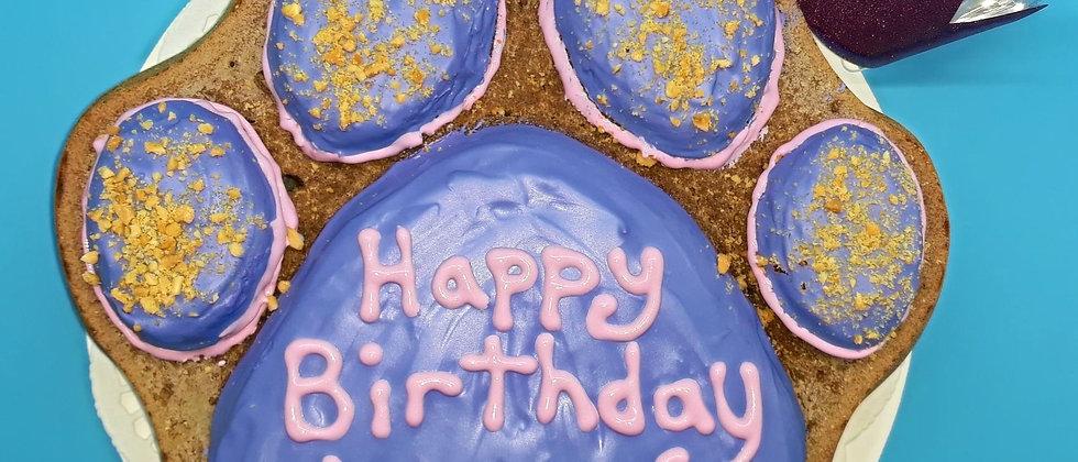 Custom Doggie Birthday Cake -10 inch