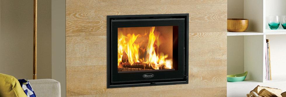 Dovre Zen 100 Solid-Fuel Fire