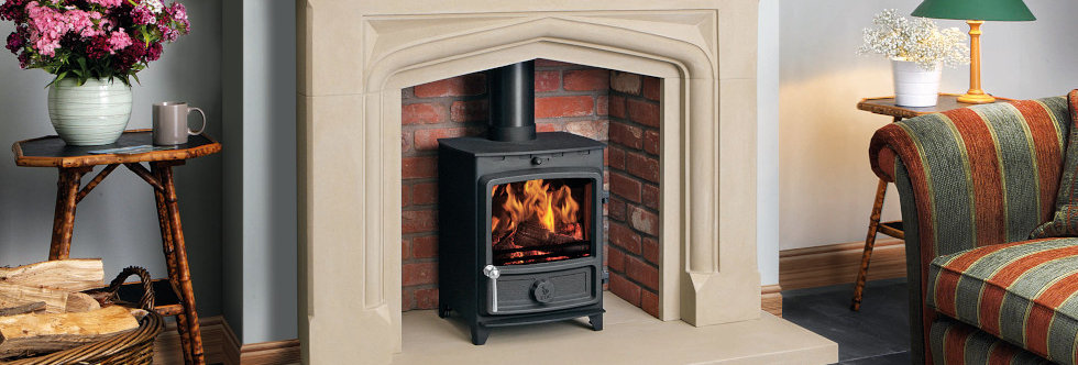 FDC5 ECO Solid-Fuel Stove