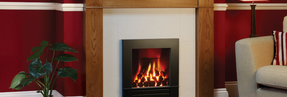Gazco Logic Hotbox Complete Front Gas Fire