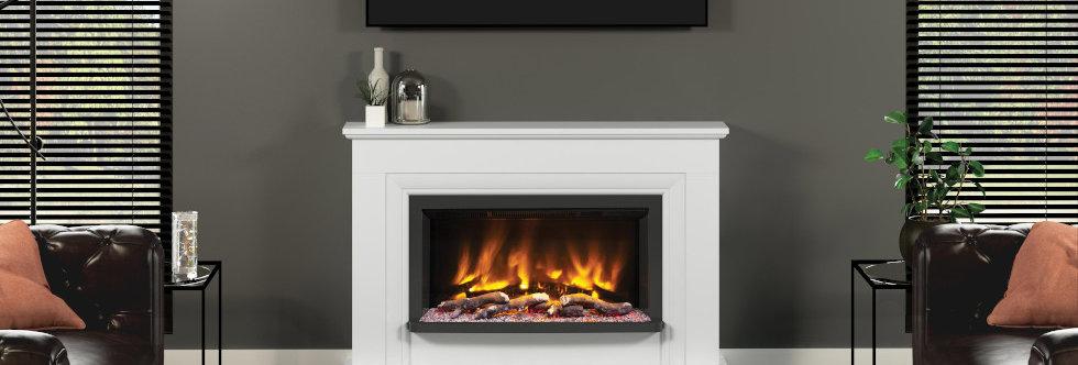 Pryzm Lavina Electric Fireplace Suite