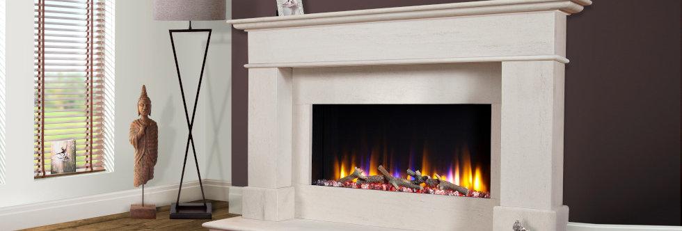 Celsi Ultiflame Avignon Elite Electric Fireplace Suite
