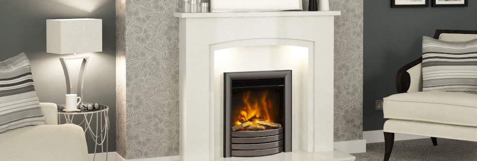 """Elgin & Hall 16"""" Pryzm Complete Front Electric Fire"""
