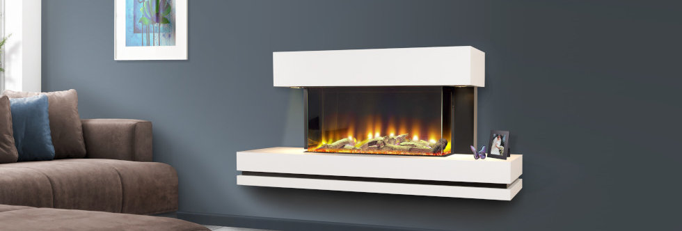 Celsi Electriflame VR Volare Illumia Electric Fireplace Suite