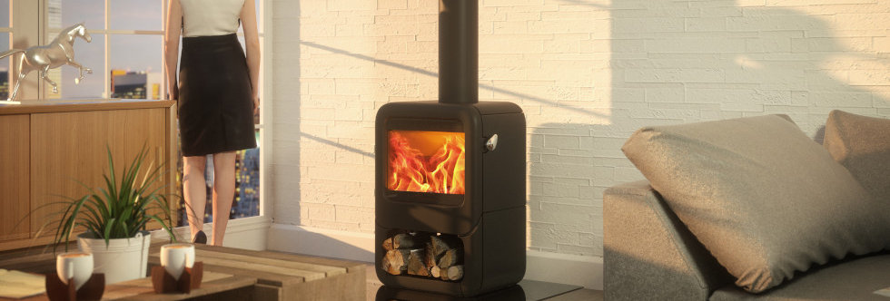 Dovre Rock 350 Solid-Fuel Stove