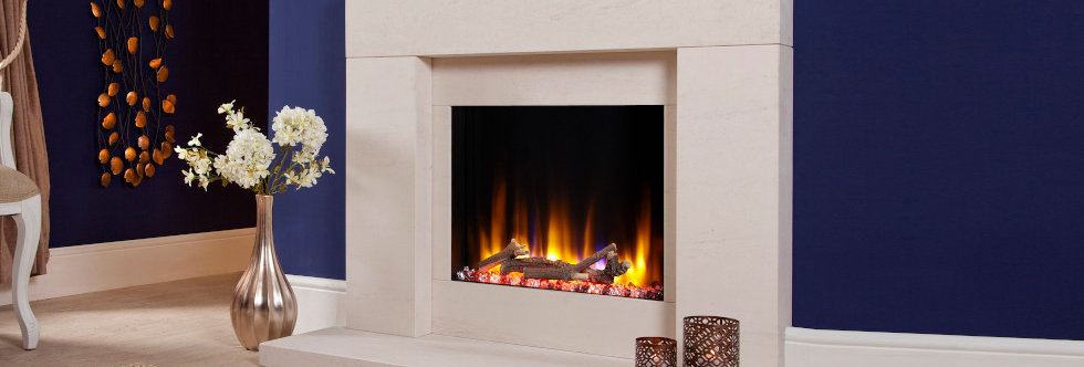 Celsi Ultiflame Pablo Electric Fireplace Suite