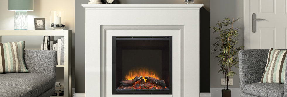 Elgin & Hall Embleton Electric Fireplace Suite