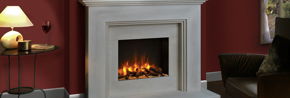 FDC Ludlow Electric Fireplace Suite