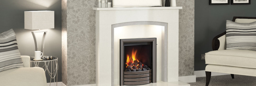 Elgin & Hall Deepline Radiant Complete Front Gas Fire
