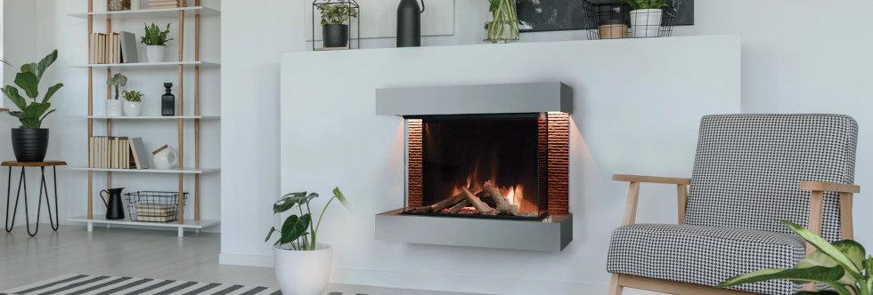 Evonicfires Aaren Electric Fireplace Suite