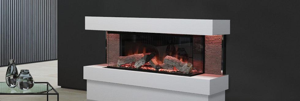 Evonicfires Kalmar Electric Fireplace Suite
