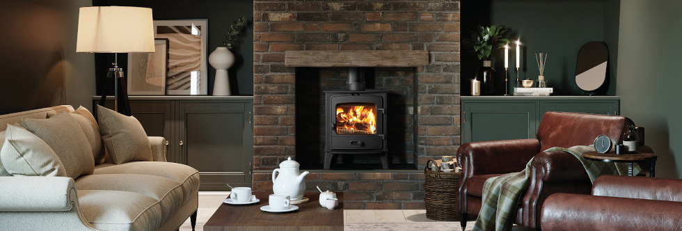 Stovax County 5 Solid-Fuel Stove