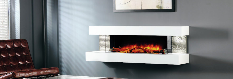Evonicfires Compton 1000 Electric Fireplace Suite
