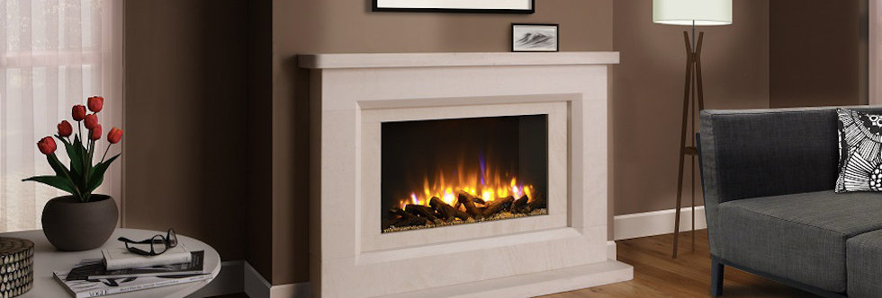 FDC Chilmark Electric Fireplace Suite