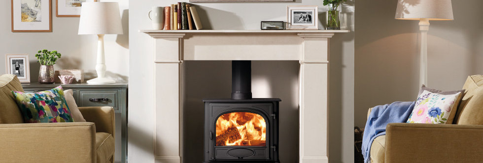 Stovax Stockton 5 Wide Solid-Fuel Stove