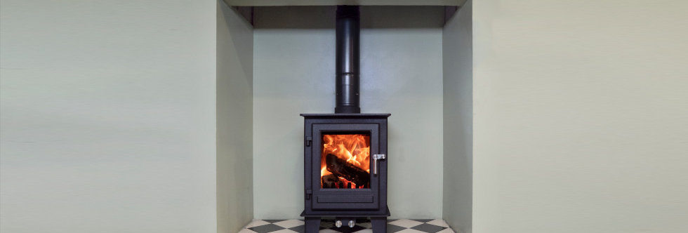 Clock Blithfield Compact 5 Solid-Fuel Stove