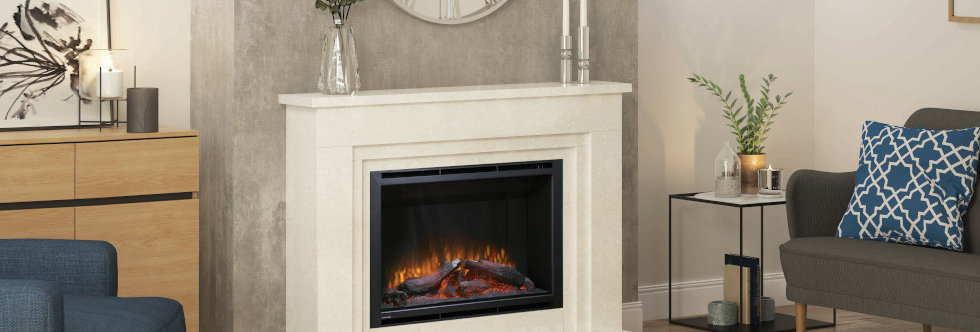 Elgin & Hall Wayland Electric Fireplace Suite