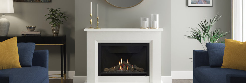 Elgin & Hall Earlston Gas Fireplace Suite