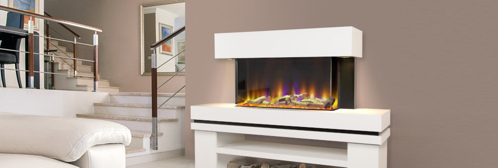 Celsi Electriflame VR Media Illumia Electric Fireplace Suite