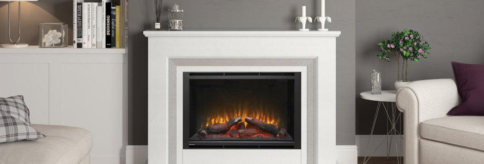 Elgin & Hall Cassius Electric Fireplace Suite