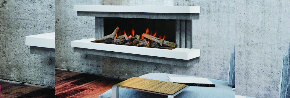 Evonicfires Gilmour 10 Electric Fireplace Suite
