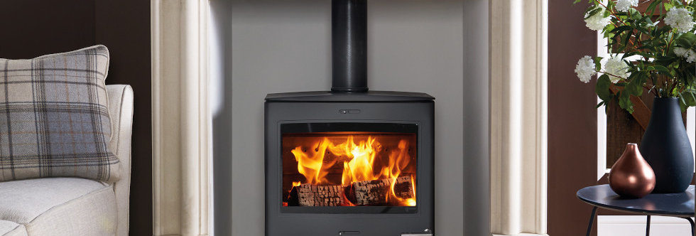 Yeoman CL5 Wide Solid-Fuel Stove