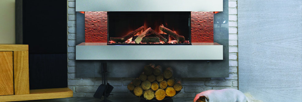 Evonicfires Nessa Electric Fireplace Suite