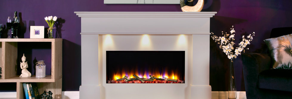 Celsi Ultiflame Adour Elite Electric Fireplace Suite