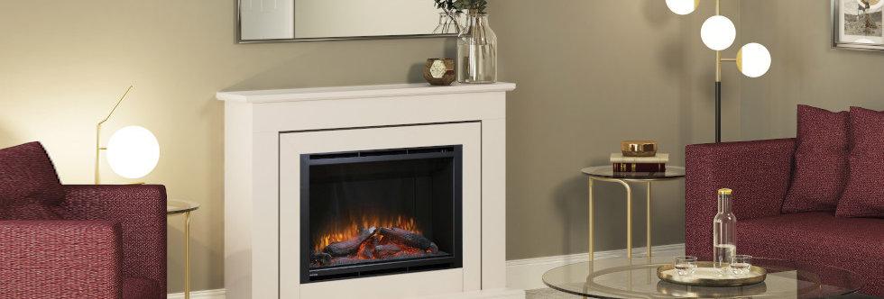Elgin & Hall Edwin Electric Fireplace Suite