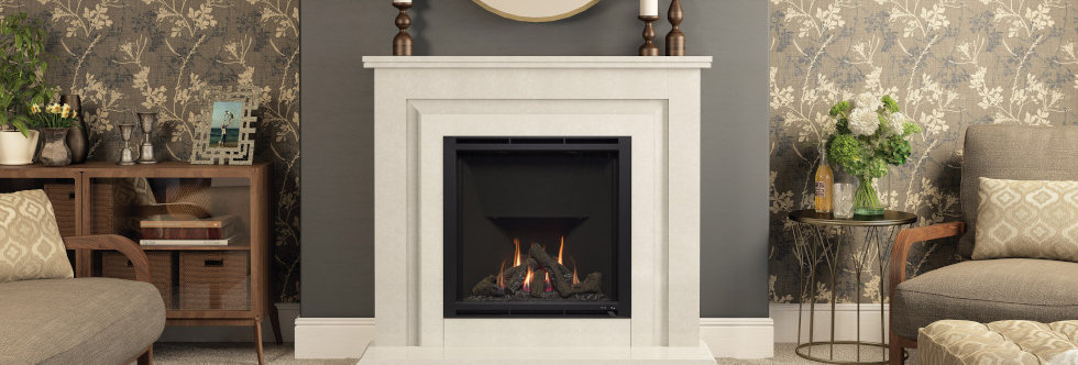 Elgin & Hall Mariella Gas Fireplace Suite