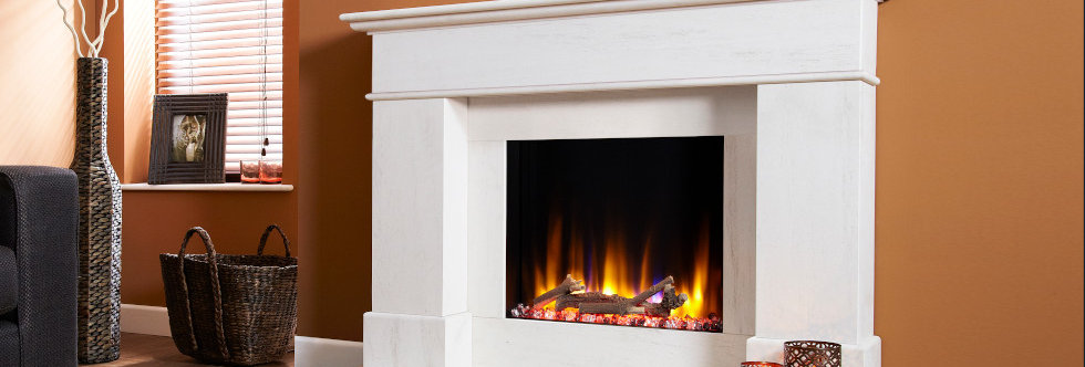 Celsi Ultiflame Boticelli Electric Fireplace Suite
